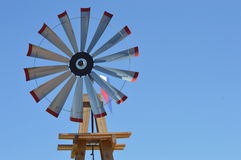 Route 66 Midpoint Wind Wheel Royalty Free Stock Photos