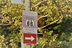 Route 66 Missouri photographie stock libre de droits