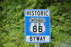 Route 66 Missouri Image stock