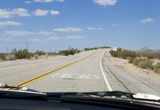 Route 66, Mother Road, California, Arizona, USA Royalty Free Stock Photo