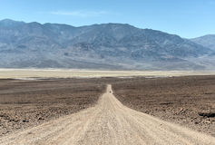 Route naturelle de pont, Badwater, Death Valley Photographie stock