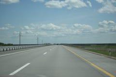 Route neuve Photo libre de droits