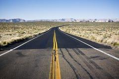 Route noire Photo libre de droits