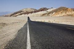 Route noire Photographie stock libre de droits