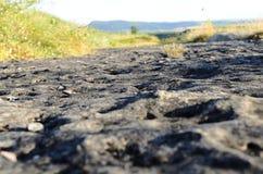 Route occidentale sauvage Images libres de droits
