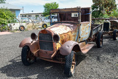 Route 66, old pick-up truck, Truxton, AZ, USA Royalty Free Stock Photo