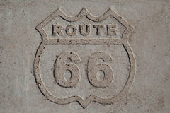 Route 66 original Royalty Free Stock Image