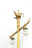 Route Pôle léger de rue de lampadaire de poteau de lampe Images libres de droits