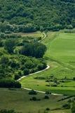 Route panoramique dans la vallée de Mirna Photos libres de droits