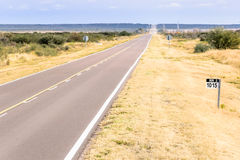Route 3 Patagonië Royalty-vrije Stock Afbeeldingen