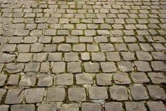 Route pavée en cailloutis Photographie stock libre de droits