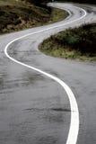 Route perdue de montagne photos stock