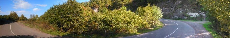 Route Photo panoramique Images libres de droits