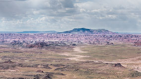 Route 66: Pintadopunt, Geschilderde Woestijn, Versteend Forest Nation Stock Afbeeldingen