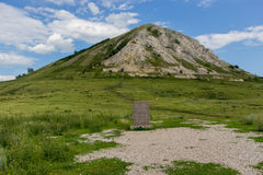 Route pour perler Bashkortostan - Toratau, Tra-Tau Photos stock
