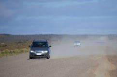 Route poussiéreuse Image stock