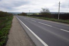Route principale Photo stock