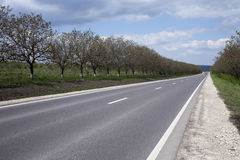 Route principale Photographie stock