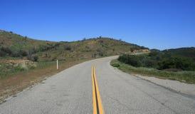 Route principale du sud de clivage Images stock