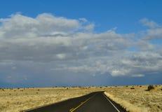 Route prise Images libres de droits