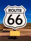 Route 66 road sign in Arizona USA Stock Photography