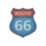 Route 66 Road Sign Royalty Free Stock Images