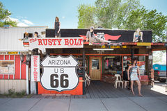 Route 66 Roadside Stock Image