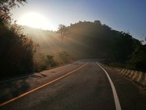Route romantique photographie stock libre de droits