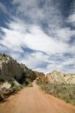 Route rouge Photo libre de droits