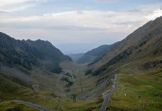 route Roumanie transfagarasan image stock