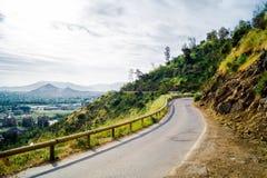 Route rurale dans la ville Photographie stock