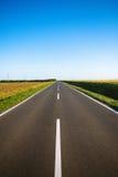 Route rurale vide Photos libres de droits