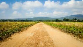 Route rustique Photographie stock