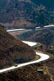 route s de roi de karak images libres de droits