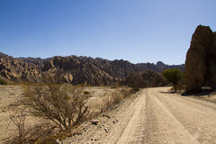 Route 40 in salta Royalty Free Stock Photo