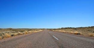 Route sans fin photographie stock