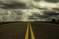 Route sans fin Photo stock