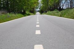 Route sans fin Photographie stock libre de droits