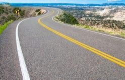 Route scénique photos libres de droits