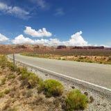 Route scénique. Image stock