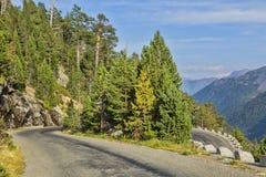 Route scénique photo stock