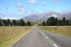 Route scénique de montagne Photos libres de droits