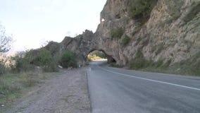 Route scénique en Arménie banque de vidéos