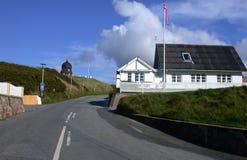 Route scandinave photographie stock libre de droits