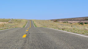 Route 66, Seligman, Arizona, los E.E.U.U. Imagenes de archivo