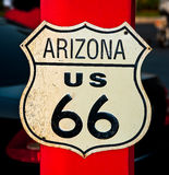The Route 66 Stock Image