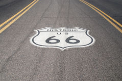 Route 66 Royalty Free Stock Photos