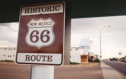 Route 66 sign Royalty Free Stock Photography