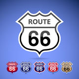 Route 66. Royalty Free Stock Photos