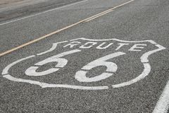 Route 66 signs royalty free stock image